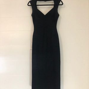 Herve Leger Sarai Mid Length Dress